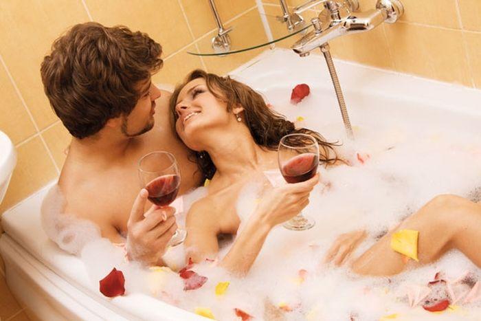 Фото секс в ваной