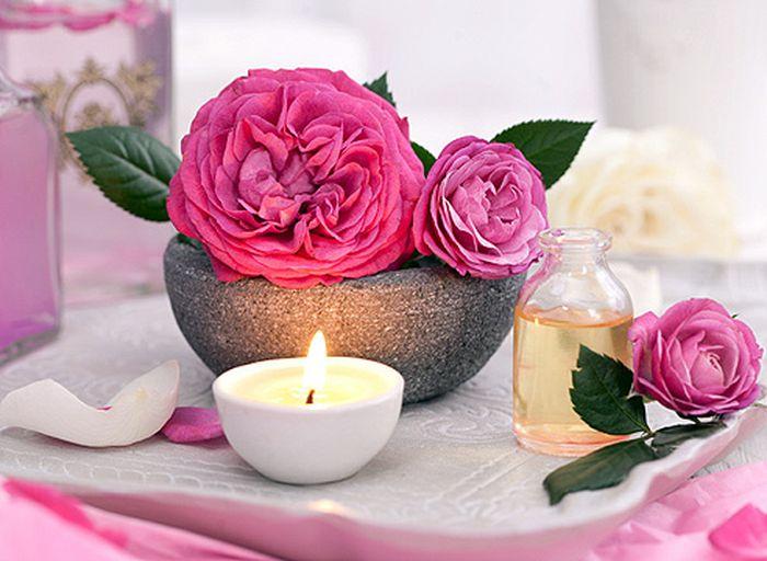 масло на основе лепестков роз