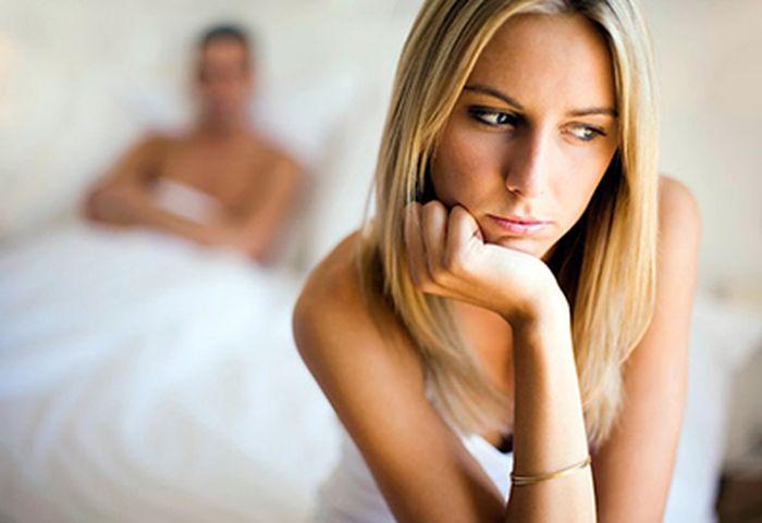 Почему девешки не получают удовольствия от секса