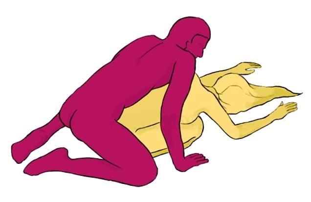 Список необычных поз, которыми вы можете разнообразить ваш секс